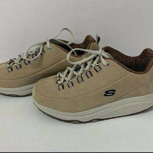 Sketchers Shape Ups Shoes Leather 9.5 Womens